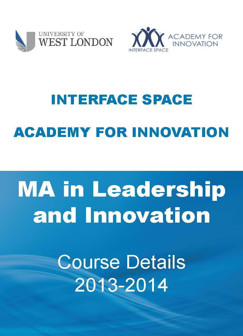 MA in Leadership and Innovation